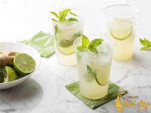 Mojito chanh bạc hà thức uống hấp dẫn và hỗ trợ giảm cân