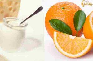Dưỡng trắng da ngăn ngừa nắng với cam