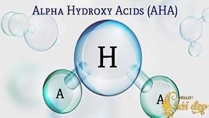 Tẩy tế bào chết hóa học AHA