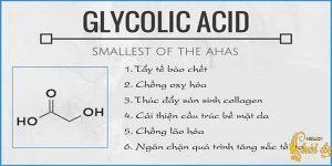 Glycolic Acid - AHA từ mía