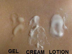 Mỹ phẩm dạng nhũ tương: Cream - Lotion - Gel