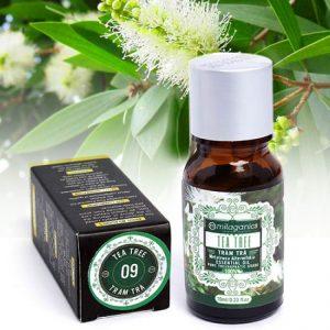 Tinh dầu tràm trà Milaganics Tea tree oil