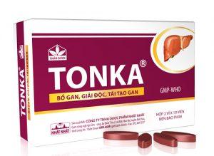 Thuốc giải độc gan trị mụn Tonka