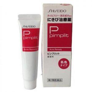 Kem trị mụn Shiseido Pimplit Nhật Bản cho mụn viêm nặng