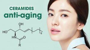 Ceramides dưỡng ẩm và chống lão hóa