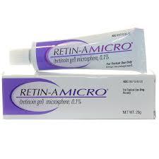 Kem trị mụn chống lão hóa Retin-A Micro 0.1%