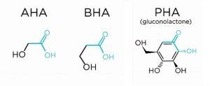 PHA - Thành phần tẩy tế bào chết và chống lão hóa