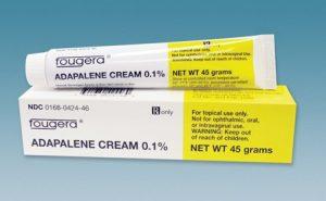Adapalene thường dùng với tỷ lệ 0.1%