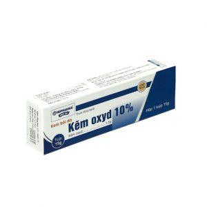 Kem bôi da chứa kẽm oxit
