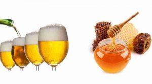 Mặt nạ trị mụn bằng bia và mật ong cho da khô