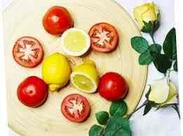 Mặt nạ cà chua chanh tươi