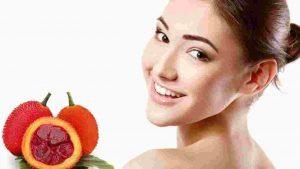 Tác dụng của dầu gấc đối với da mặt và toàn thân