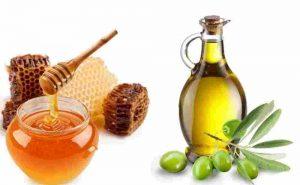 Mặt nạ dầu oliu mật ong