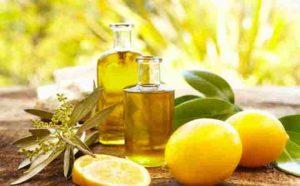 Mặt nạ dầu oliu nước cốt chanh