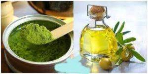 Mặt nạ dầu oliu trà xanh