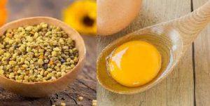 Mặt nạ phấn hoa – trứng gà chống lão hóa da