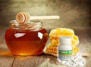 Mặt nạ Vitamin B1 mật ong