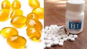 Mặt nạ Vitamin B1 và Vitamin E