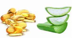 Mặt nạ vitamin E và nha đam