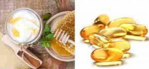 mặt nạ vitamin E sữa chua không đường