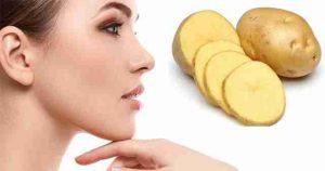 Tác dụng làm đẹp bằng khoai tây đối với da