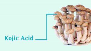 Kojic Acid trong mỹ phẩm làm đẹp da