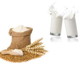 Cách làm trắng da đơn giản bằng mặt nạ bột mì sữa tươi