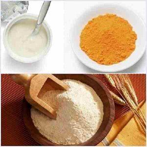 Mặt nạ cám gạo sữa chua tinh bột nghệ