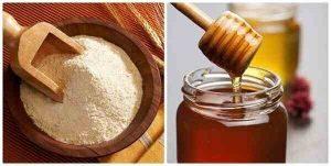 mặt nạ mật ong cám gạo