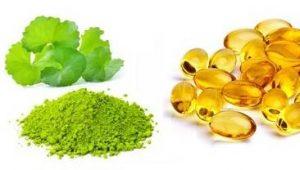 Bí quyết trị sẹo tại nhà bằng rau má, tinh bột nghệ và vitamin E