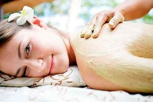 Trà xanh và chanh dưỡng trắng toàn thân ngăn ngừa mụn cơ thể