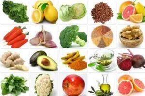 Bổ sung Glutathione bằng những thực phẩm có lợi