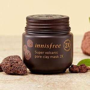 Review Mặt nạ đất sét Innisfree Super Volcanic Pore Clay Mask 2X